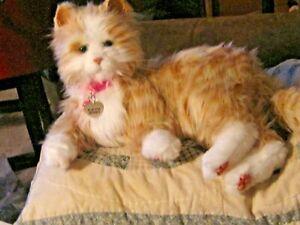 Ageless Innovations Joy For All Orange Tabby Kitty Cat Robotic Companion Pet