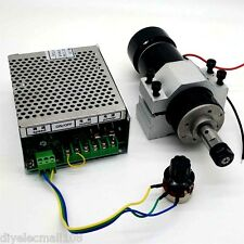 2017 ER11 Chuck CNC 500W Spindle Motor + 52mm Clamps + Speed Govern controller