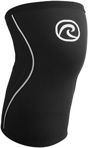 Rehband RX 5mm Knee Sleeve Support - Black