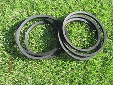 2 REPLACEMENT BELTS FOR SERVIS RHINO FM72 SIDE & REAR CUTS RHINO 00765482 765482
