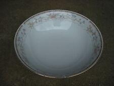 "Wellington Porcelain 9"""" SERVING BOWL  Wl01 Pattern  Made in China"