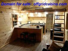 DOMAIN FOR SALE:  offgridcabins.com