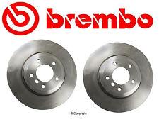 Set of 2 Brembo Front Disc Brake Rotor's Bmw E46 330Ci 330i 330xi Z4