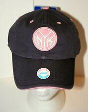 NY New York Knicks Womens Pink NBA Basketball Team Twins Ent. Cap Hat New