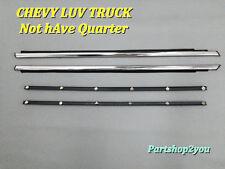 Chevrolet LUV truck 72-80 DOOR BELT WEATHERSTRIP SET Model  NOT Have Quarter