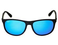Ray-Ban RB4291 601S/55 Black Frame/Blue Mirror Lenses Unisex Sunglasses 58mm