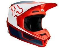 Fox v1 Tappetino Crosshelm MX Casco Motocross Enduro Nero TWO-X Crossbrille