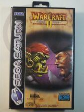 !!! sega saturn jeu warcraft II Dark saga OVP d'occasion, mais bien/top!