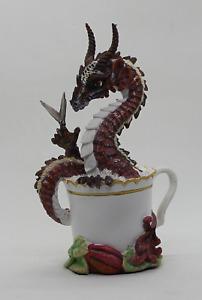 Chocolate Dragon - Stanley Morrison Fantasy Drache in Schokoladen Tasse