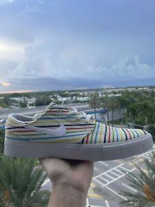 NIKE SB Zoom Janoski Canvas RM PRM AQ7878 100 Mens Shoes Size 9.5 US - NEW!!