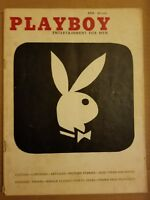 Playboy April 1956 * Good Condition * Free Shipping USA