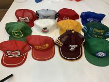 Vintage Trucker Snapback Hat Lot K-Products USA Foam Cord Mesh Ford John Deer