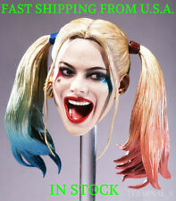 1/6 CUSTOM Harley Quinn Suicide Squad Head Sculpt For Phicen Female Figure ❶USA❶
