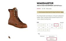 irish setter wingshooter boots