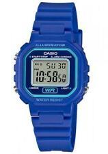 Casio Women's Classic Digital Quartz Resin Blue Watch LA-20WH-2A