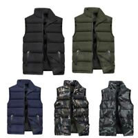 Men Winter Sleeveless Coat Padded Waistcoat Vest Gilet Tobias Hunting Jacket