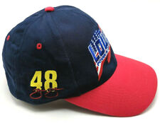 JIMMIE JOHNSON / NASCAR 48 / LOWE'S blue adjustable cap / hat
