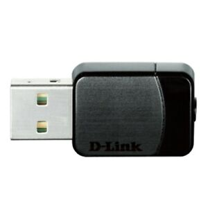 D-Link DWA-171 2.4GHz or 5GHz Duo Band Wireless-AC USB Adapter
