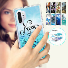 For Samsung Note 10 Plus S10e S10 Rugged Patterned Hybrid Rubber Hard Case Cover