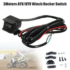 3M ATV/UTV Winch Rocker Switch Handlebar Control Line Warn Nylon Universal