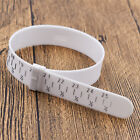 Bracelet Sizer Gauge Adjustable Wrist Measuring Plastic Circle White Hand Ring
