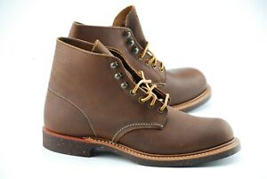 NEW W BOX | RED WING 7D BROWN SPITFIRE  8015 HERITAGE PLAIN TOE BOOTS