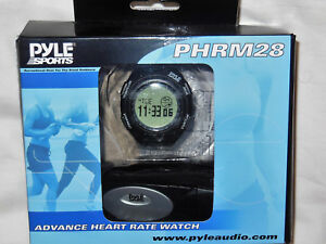 New PYLE PHRM28 Advance Heart Rate Watch  W/ Calorie Counter & Target Zones