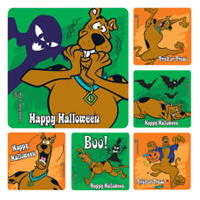 Scooby Doo Stickers x 6  Birthday Party Supplies Favours Loot Halloween Scooby