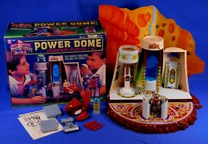 MIGHTY MORPHIN POWER RANGERS POWER DOME PLAYSET 1994 WITH BOX BANDAI ALPHA 5