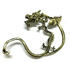 Bronze Dragon Cuff Gothic Punk Earring UK Shop