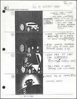 Beetlejuice Original Production Animation Storyboard Nelvana Tim Burton 1990 dn2