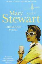 MARY STEWART ___ THIS ROUGH MAGIC ___ SHOP SOILED ___ FREEPOST UK