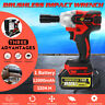 168VF 19800mAh Multi-purpose Electric Impact Wrench Cordless Brushless Tools