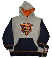 NFL Little Kids Chicago Bears The Standard Pullover Hoodie NWT M(5-6), L(7)
