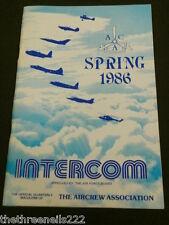 AIRCREW ASSOCIATION - INTERCOM - SPRING 1986