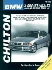 NEW CHILTONS REPAIR MANUAL BMW 3 SERIES M3 Z3 318i-328i