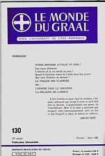 LE MONDE DU GRAAL N° 130