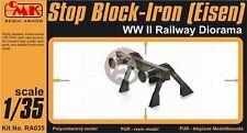 CMK 1/35 Railway Buffer Stop - Iron Stop Block (Eisen) WWII RA035