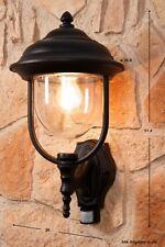 Applique extérieure Détecteur Luminaire de jardin Lanterne Lampe murale 40067