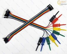 10pin DuPont CABLE + Electronic project SMT TEST IC Hook Test Clip Gripper Probe