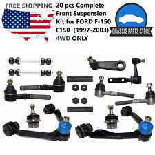 20 pcs Complete Front Suspension Kit for FORD F-150 F150  (1997-2003) 4WD