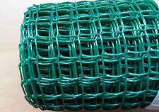 Green Plastic Garden Mesh Wire Ideal for Garden Fencing 5mx1mx19mm Value!