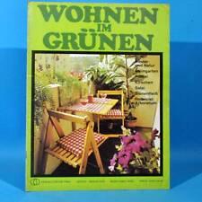 DDR Wohnen im Grünen 1/1978 Verlag für die Frau C Steingarten Bienen Arboretum
