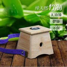 New 4 Type Moxa Stick Roll Holder Healing Therapy Bamboo Mild Moxibustion Box