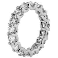 3.10CT Round cut 14K WHITE gold CERTIFIED anniversary diamond engagement ring