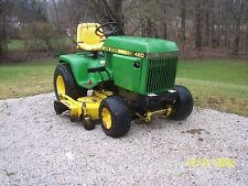 "John Deere 420 tractor with 60"" mower deck and 48"" plow, Honda Engine"
