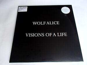 WOLF ALICE - VISIONS OF A LIFE - LTD HMV GATEFOLD CLEAR VINYL LP DH00223 SEALED