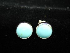 Turquoise Stud Earrings - FREE Shipping, FAST Delivery, US Seller, 925 Silver
