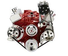 Small Block Chevy Serpentine Conversion Kit Ac Ps Alt Sbc 283 327 350 400