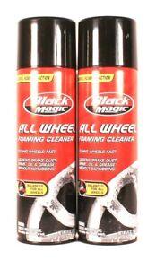 2 Count Black Magic 16 Oz All Wheel pH Balanced Powerful Foaming Cleaner